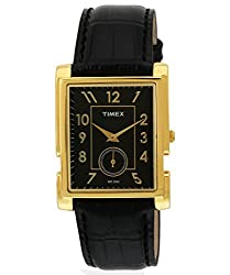 Timex Empera Analog Black Dial Mens Watch - NL15