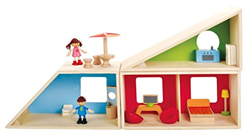 Hape - Geometrics Wooden Doll House