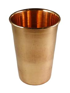 Amazon com copper drinking glass cup copper glassware tumblers