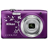 Nikon COOLPIX S2900 Digital Camera (Purple Ornament) - International Version (No Warranty)