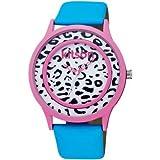 (キットソン)kitson KW0180 レディースウォッチ 腕時計 ブラック/ホワイト/ブルー[並行輸入品]