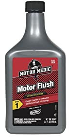 Motor Medic by Gunk MF3 High Mileage 5-Minute Motor Flush - 32 oz.