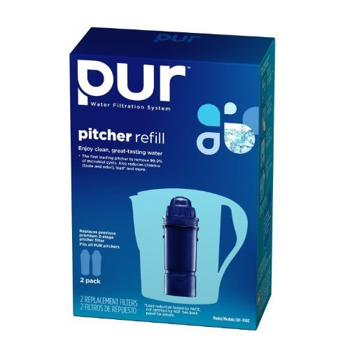 PUR 2-Stage Water Pitcher Replacement Filter, New Value Pack Size 8-ct (Pur Value Pack compare prices)