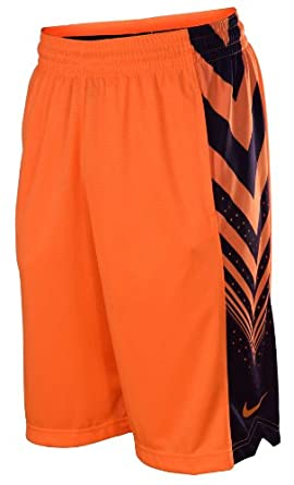 Nike Mens Sequalizer Basketball Shorts-Orange by Nike