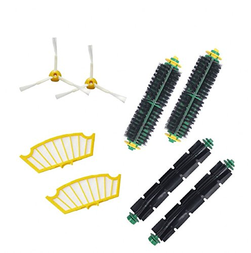 Replacement Accessory Kit For Irobot Roomba 530 532 535 - Includes 2 Pack Filter, Side Brush,Bristle Brush And Beater Brush