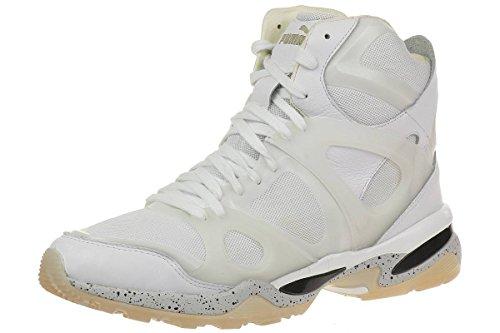 Puma McQ Run Mid by Alexander McQueen Mens Sneaker white, Numero di scarpe:EUR 42