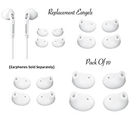 GF Pro Replacement Ear Gels Buds for Samsung Galaxy S6 Edge Note Earphones SIZE-M