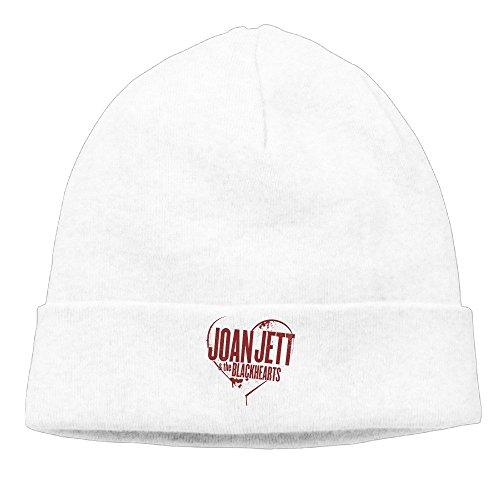 [Joan Jett & The Blackhearts Rock Band Unisex Beanie Hat Fashion Caps] (Joan Jett Wigs)
