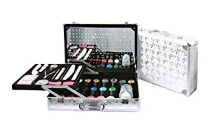 Konad Stamping Nail Art -The Professional Salon Case #2 include the big demo plate from m37-m72+the latest konad image plates