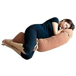 自分の体の形に変えられる3D抱き枕 プレママピロー Rafens