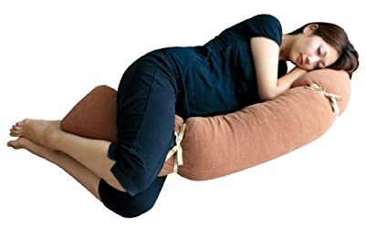 Rafens プレママピロー/自分の体の形に変えられる3D抱き枕(ブラウン)