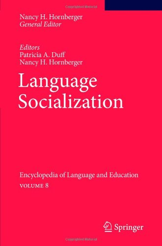 Language Socialization: Encyclopedia of Language and...