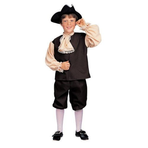 Colonial Boy Costume Good for Ben Franklin Costume Too!