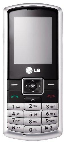 LG KP170 schwarz/silber Handy (Bluetooth, Farbdisplay,Kamera)