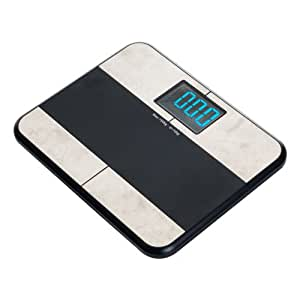 Remedy bluetooth bmi digital bathroom scale with iphone for Bluetooth kitchen scale