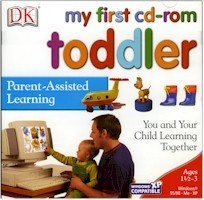New Dk Multimedia My First Cd Rom Toddler Sorting Shapes Similarities Differences Colors Counting