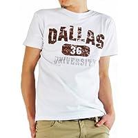 ARCADE(アーケード) 楽しく選べる全25パターン アメカジ ロゴプリント Tシャツ メンズ