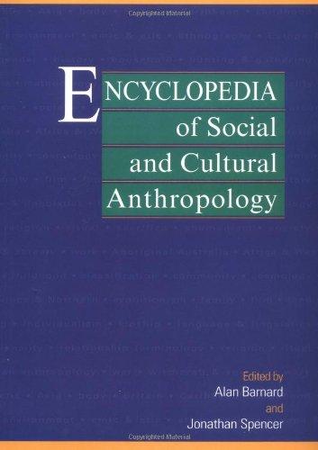 Ency Of Social & Cult Anthropo