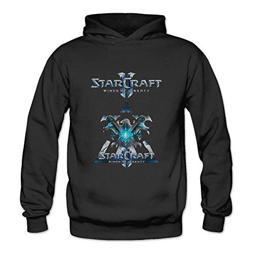 ZULA Women's Sweatshirt StarCraft II: Wings Of Liberty Black Size L