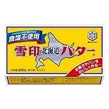 雪印北海道バター食塩不使用200g