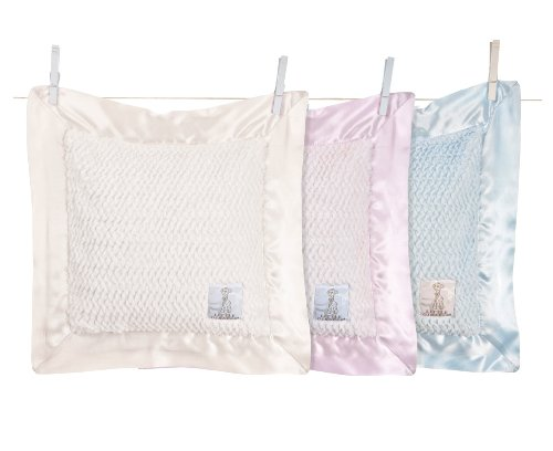 Blue Sky BlueberryShop Luxury Embroidered Cotton Quilt and Pillow Set for Pram//Crib and Moses Basket 2-Piece