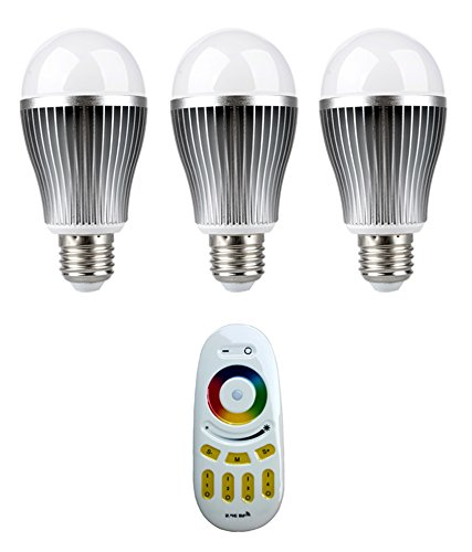 LED-Bulb-PRISM-With-Wireless-Remote-controlled-(256-Colors,-Pack-of-3)-
