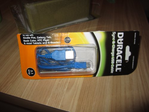 Duracell Phone Accessory - Car Charger - Retail Packaging - Blue