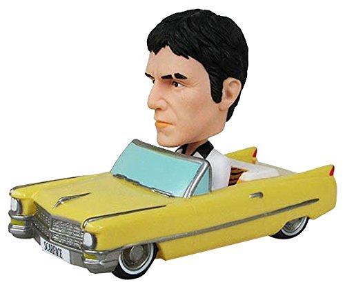 Scarface Wacky Wobbler Bobble-Head Cadillac With Tony Montana 10 Cm Funko