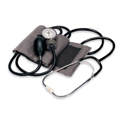 Omron Home Manual Blood Pressure Kit, Gray