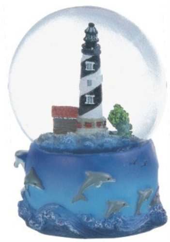 Snow Globe Cape Hatteras Lighthouse Desk Figurine Decoration