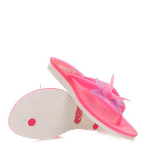 Beach Athletics Papillion Pink Purple Flip Flops SIZE 3-8
