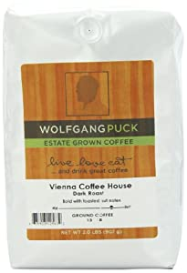 Wolfgang Puck Coffee Vienna Coffee House Ground Bulk Coffee, 2-Pounds