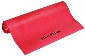 HUDORA 76646 Tapis de gymnastique Rouge