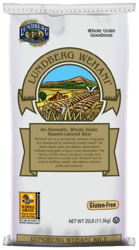 Best Price Lundberg Organic Wehani Gourmet Brown Rice 25-PoundB0000CEQAA