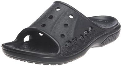 crocs Baya Summer Slide 12000-001-176 Unisex-Erwachsene Dusch- & Badeschuhe, Schwarz (Black), EU 38/39