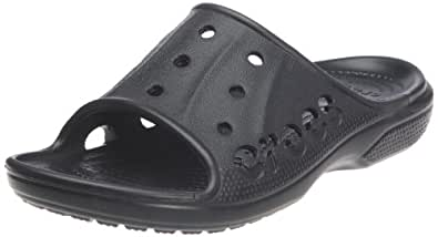 Crocs Baya Slide, Tongs mixte adulte,  Noir (Black), EU 38-39, (US M6W8)