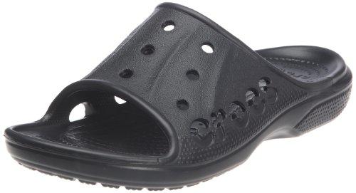 Crocs, Baya Slide U, Sandali, Uomo, Nero (BLK), 39-40