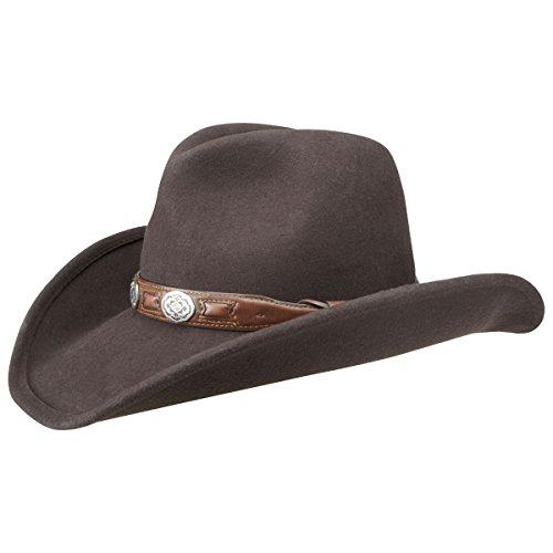 roy-cappello-da-cowboy-stetson-cappello-feltro-di-lana-cappello-rodeo-l-58-59-marrone