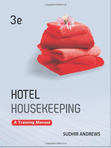 hotel housekeeping a training manual malaysia online bookstore rh bookurve com hotel housekeeping training manual pdf hotel security training manual