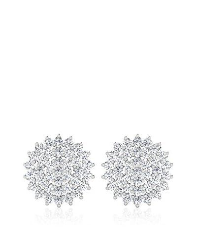 Diamant Vendome Ohrringe weißgold