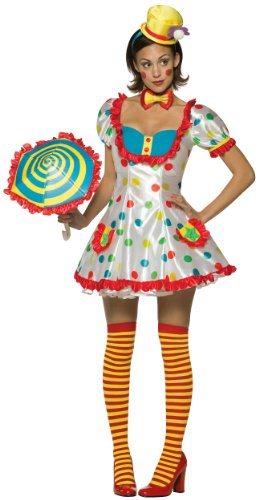 Clown (Female) Costume Adult Size