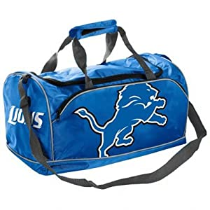 Detroit Lions NFL Extra Small Duffle Bag by Forever Collectibles