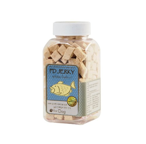 [Pet Days] Natural Flavor Fd Jerky White Fish(Cod) For Dogs Premium Ingredients