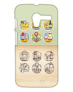 Pickpattern Back Cover fo Motorolar Moto X 1st Gen