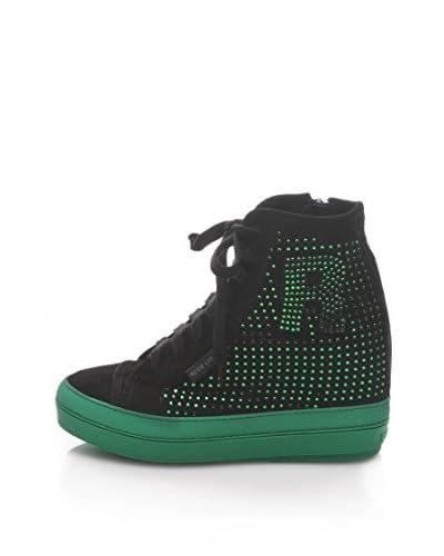 Ruco Line Sneaker Zeppa [Verde]