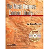 img - for Music Business Contract Library (Hal Leonard Music Pro Guides) [Paperback] [2008] Greg Forest book / textbook / text book