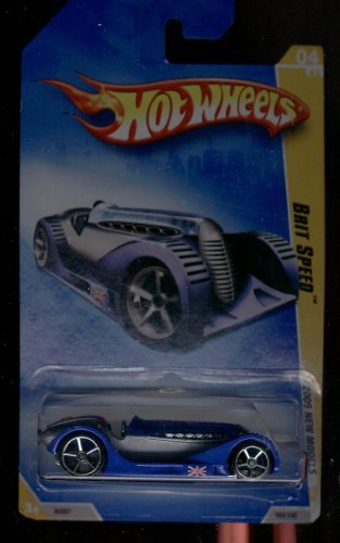 Hot Wheels 2009-004/190 Brit Speed 04/42 1:64 Scale - 1