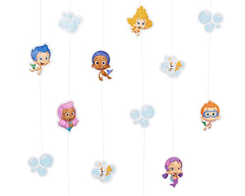 Bubble Guppies Hanging Party Decorations, Party Supplies - 1