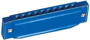 BINO 86582 - Mundharmonika, blau