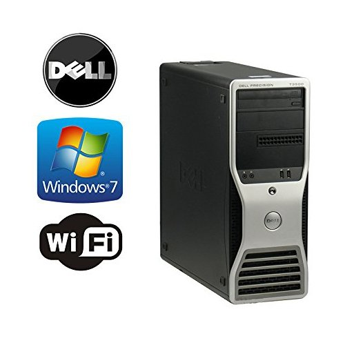 Dell Precision T3500 Workstation - Intel Quad Xeon 2.4GHz - 8GB DDR3 RAM - 128GB Solid State Drive + *NEW* 2TB HDD, Dual Video Out - WiFi - DVD/CD-RW - Microsoft Windows 7 Professional 64-Bit (Prepared by Re-Circuit) Desktop Computer System Sale Includes Shipping, USB Keyboard & Mouse Bundle!